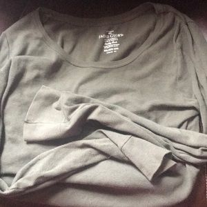 Green long sleeve shirt